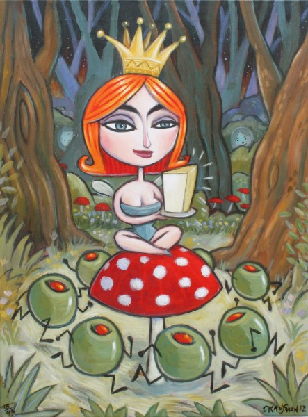 As the Fairy Queen of Cheese ...