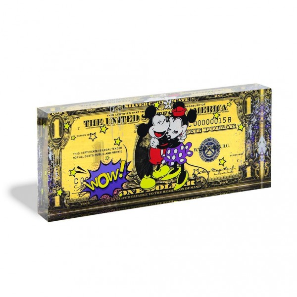 One Dollar Mickey & Minnie Mouse