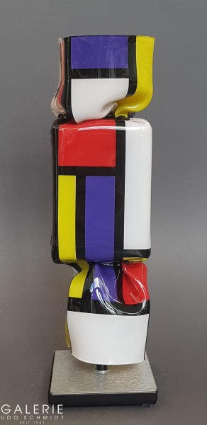 Art Candy Toffee: Homage to Piet Mondriaan